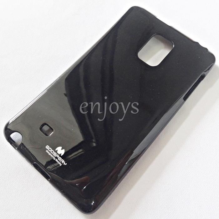 GOOSPERY Pearl Jelly TPU Soft Case Samsung Galaxy Note Edge /N915 *BLK