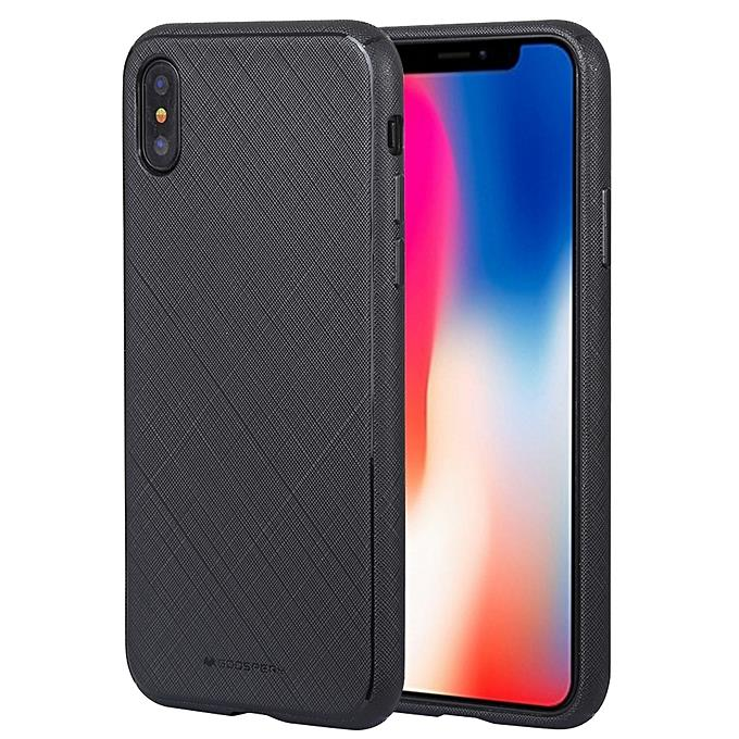 best sneakers 6b666 05402 Goospery Style Luxury iPhone X / XS Protective Back Case Cover