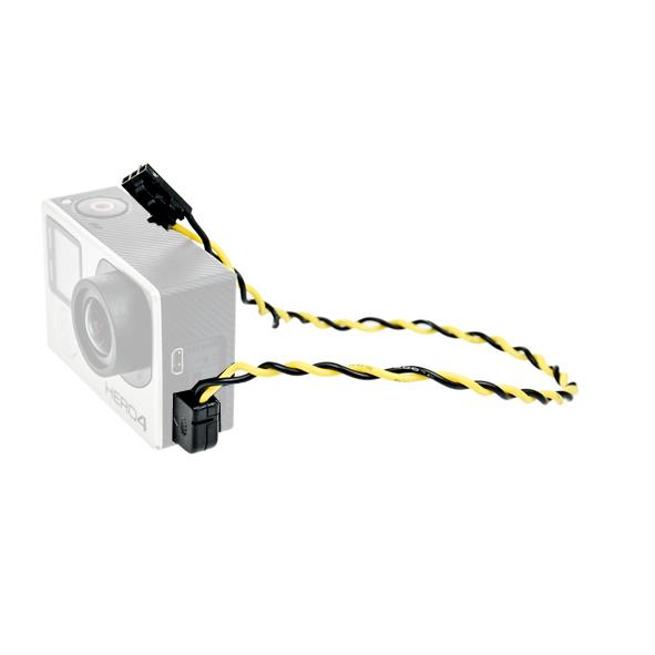 Gopro Actioncam USB to AV Output FPV Cable for Hero Series
