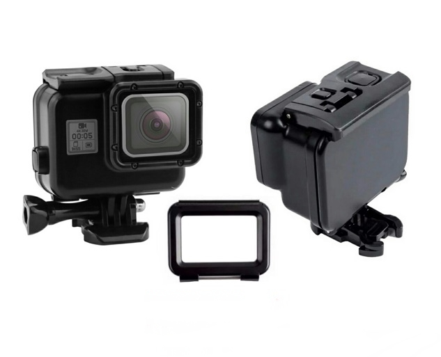 GoPro Hero 5 6 7 Black Waterproof Blackout Housing Casing
