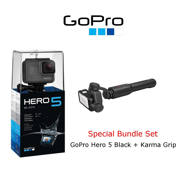 Gopro Hero 5 Black Hero5 Acti End 6 4 2020 925 Pm Edition Go Pro Action Camera Karma Grip Stabilizer