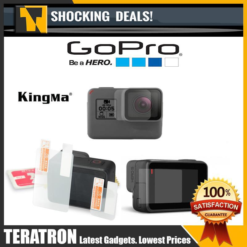 e08378c8c4bf Gopro Hero 5 and Gopro Hero 6 Lens and Screen Protector Film