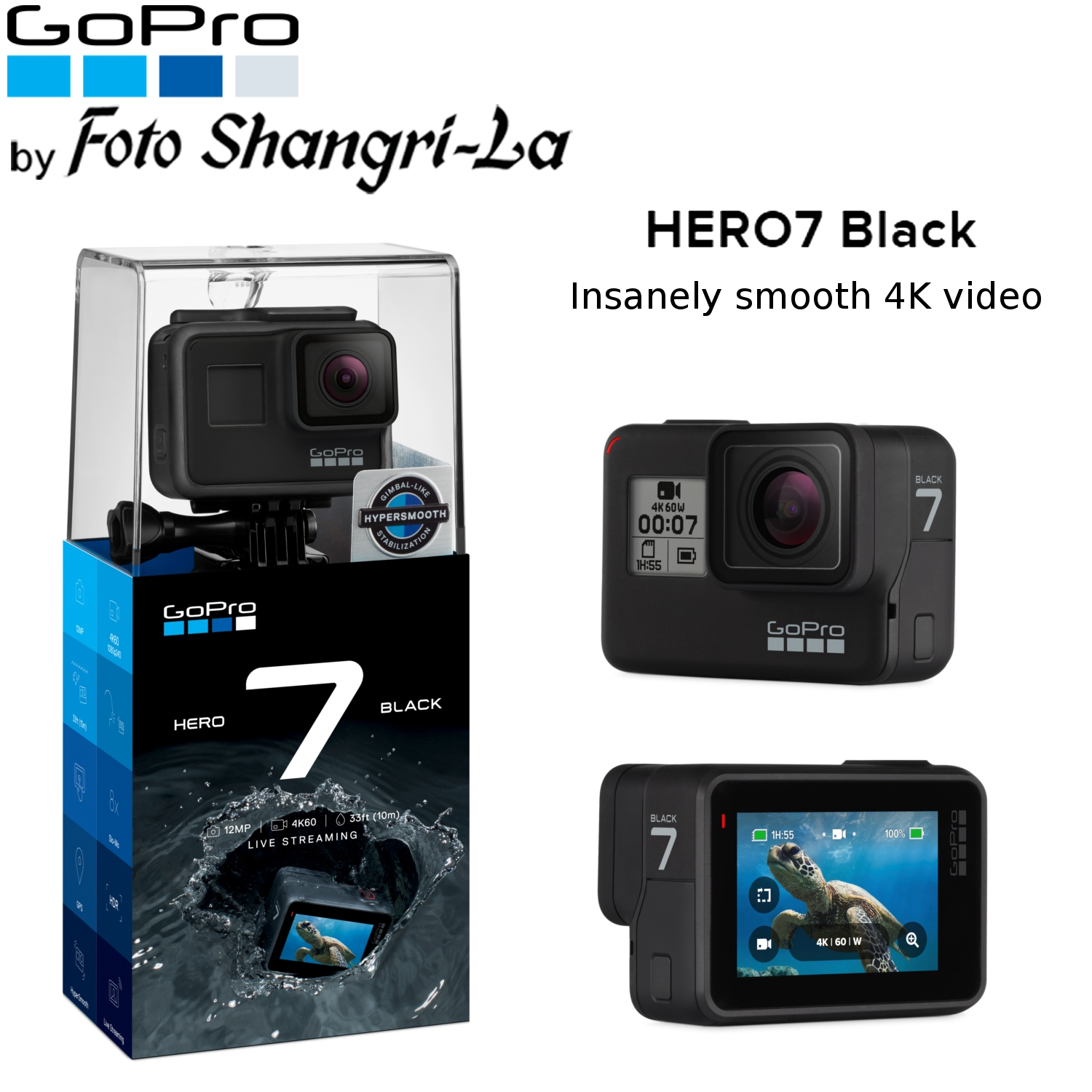 3236604a977 GoPro Hero 7 Black   Hero7 Black 4K (end 3 14 2021 12 00 AM)
