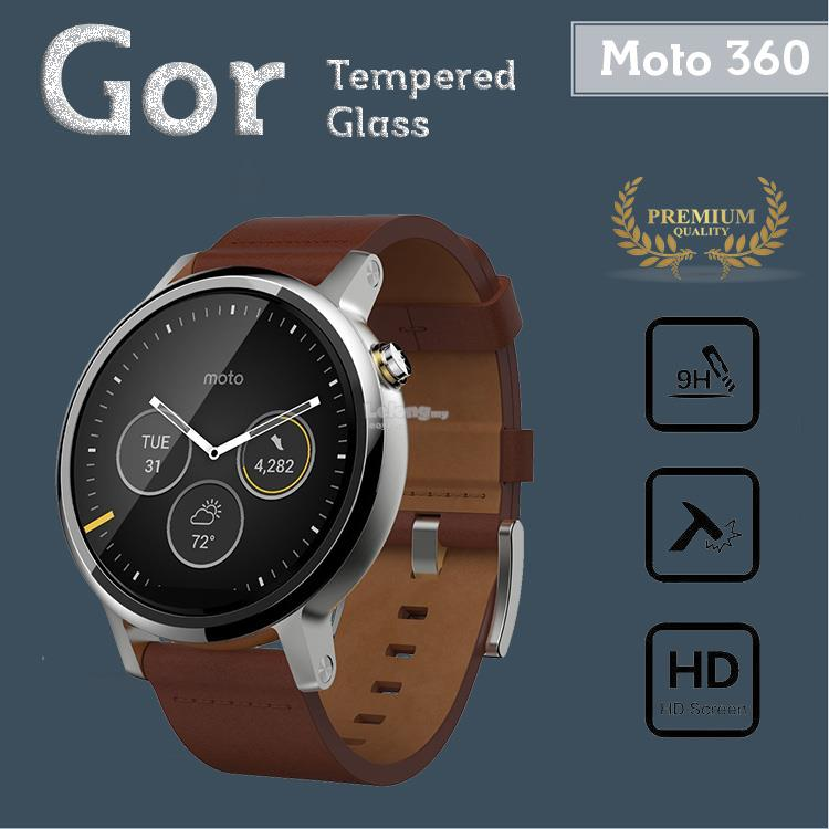 Gor Moto 360 2 46MM Tempered Glass Screen Protector