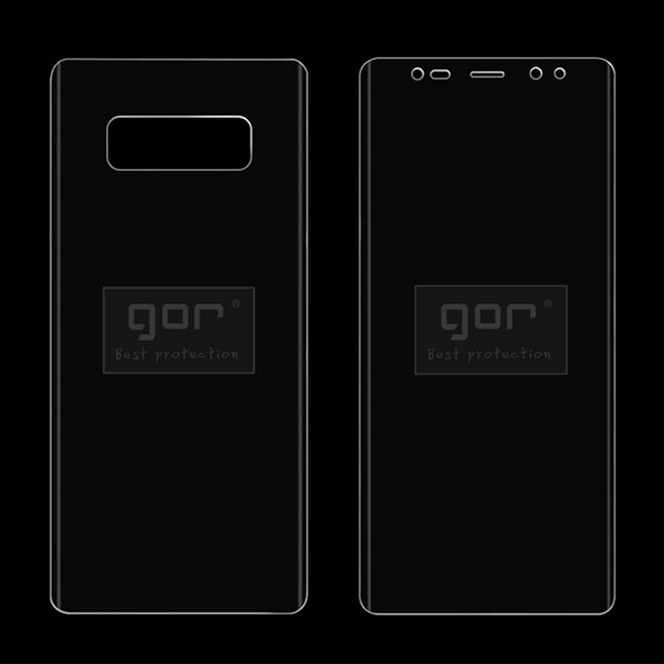 GOR Samsung Galaxy Note 8 3D Full Screen Coverage Protector SP