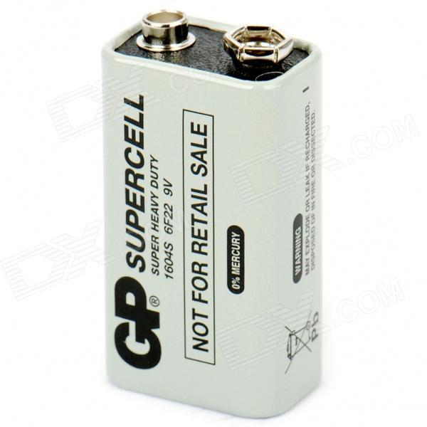 GP 9V 6F22 Heavy Duty Battery 6LR61 6F22 6KR61 6HR61