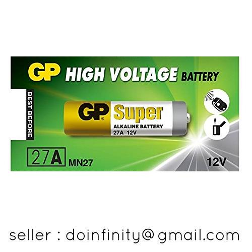 GP Super 27A 12V Alkaline Battery MN27 Auto Gate Car Alarm Remote New