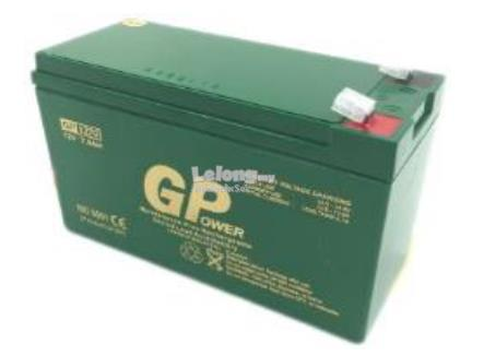GPower 12V 7AH Sealed Lead-Acid Battery- Alarm Autogate UPS