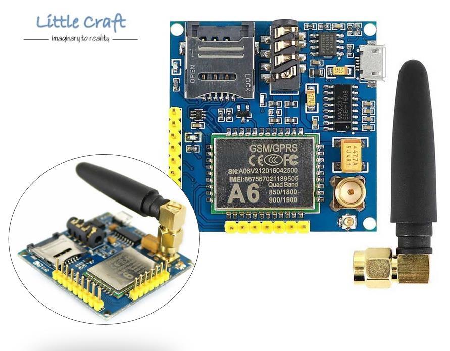 GPRS A6 Pro Serial GPRS GSM Module Core Developemnt Board