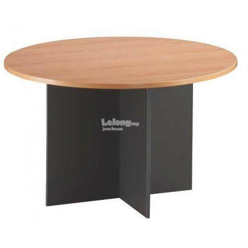 GR Round Conference Table End PM - Round conference table for 10