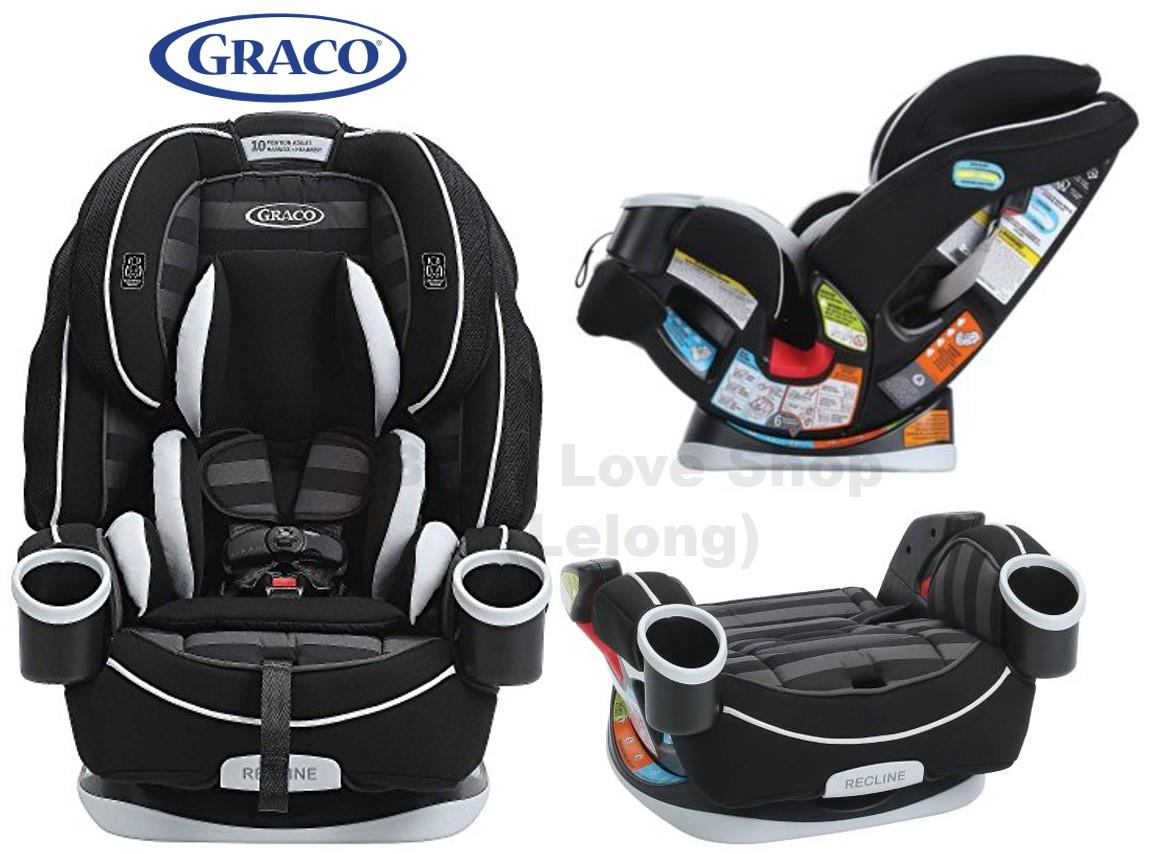 Graco 4ever 4 in 1 convertible car s end 7 12 2018 2 52 pm for Silla 4ever graco