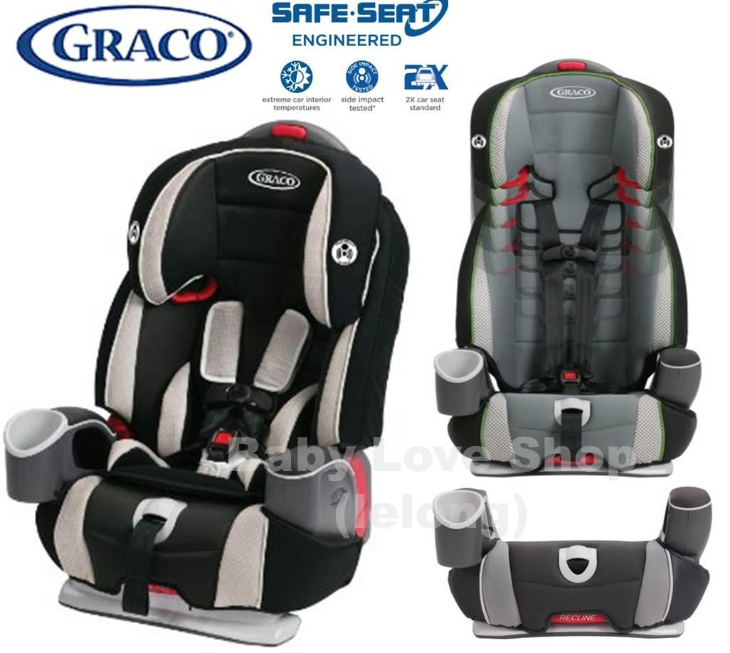 Graco Argos 65 3 In 1 Booster Car Seat With Isofix Latch System