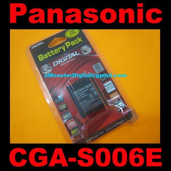 Grade aaa panasonic cga s006e dmc fz end 5 10 2019 4 15 pm - Batterie panasonic lumix dmc fz18 ...