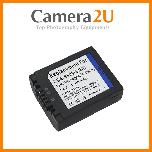 Grade A CGA-S006 Battery for Panasonic FZ18 FZ28 FZ30 FZ50 FZ8 FZ7