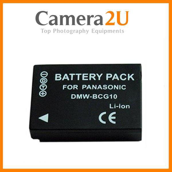 Grade A DMW-BCG10 Battery for Panasonic Lumix TZ19 TZ20 3D1