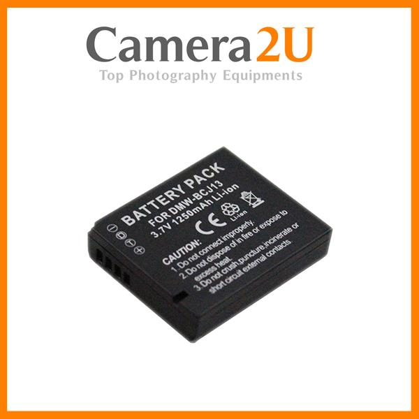 NEW Grade A DMW-BCJ13 Li-Ion BCJ13 Battery for Panasonic LX5 LX7