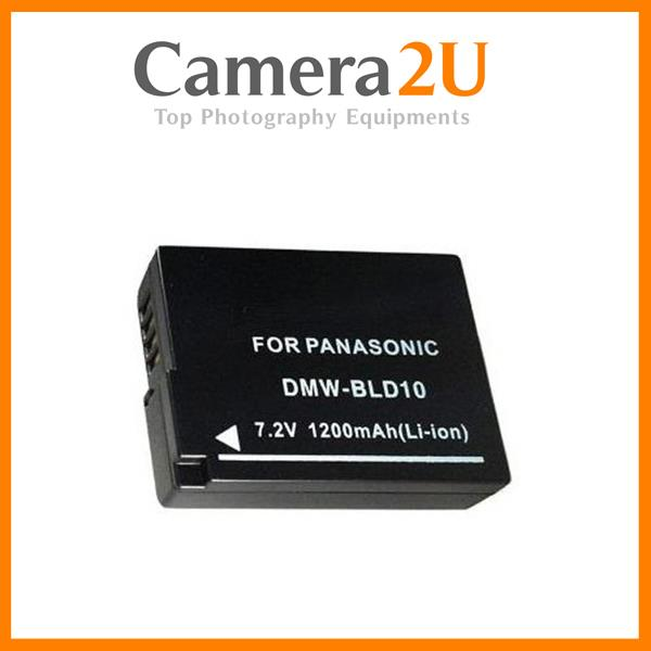 Grade A DMW-BLD10 Li-Ion Battery for Panasonic Lumix GX1 GF2 G3 BLD10