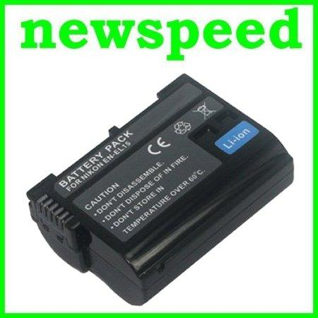 Grade A EN-EL15 Battery for Nikon D7200 D7100 D7000 D750 D610 ENEL15