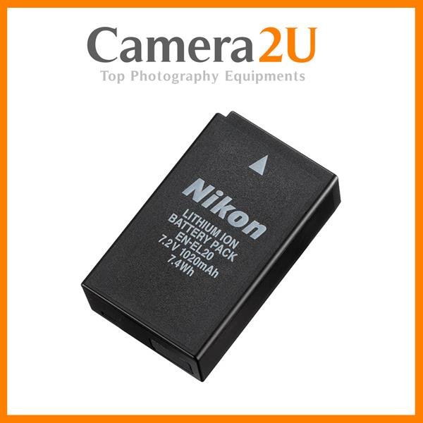 Grade A EN-EL20 Rechargeable Li-Ion Battery for Nikon J1 J2 ENEL20