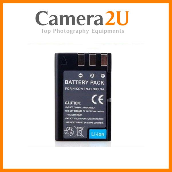 Grade A EN-EL9a Rechargeable Li-Ion Battery for Nikon D3000 D40x ENEL9