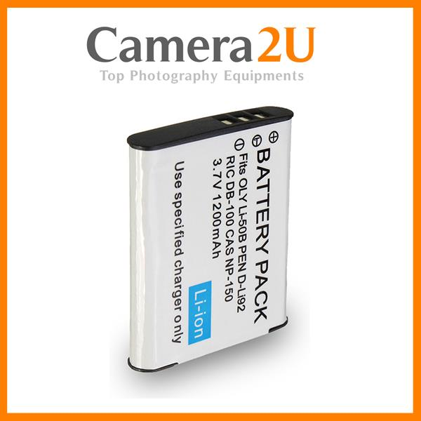 Grade A LI-50B Li-Ion Battery for Olympus XZ1 TG810 TG610 LI50B