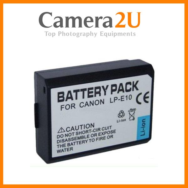 Grade A LP-E10 Li-Ion Battery for Canon EOS 1200D 1300D LPE10