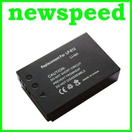 Grade A LP-E12 Li-Ion Battery for Canon EOS M M2 M10 100D LPE12