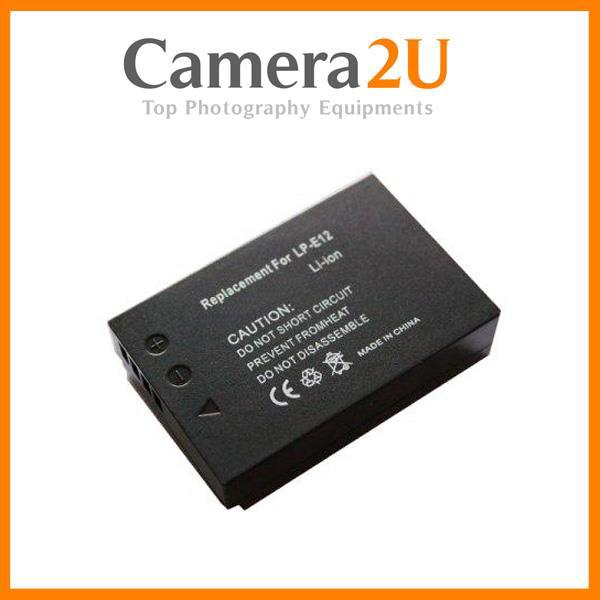Grade A LP-E12 Li-Ion Battery for Canon EOS M100 M50 LPE12
