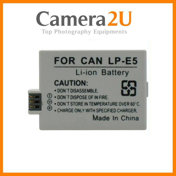 Grade A LP-E5 Rechargeable Li-Ion Battery for Canon Rebel XSi T1i