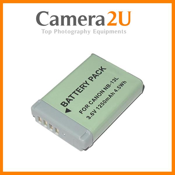 Grade A NB-13L Li-Ion Battery for Canon G5X G7X G9X SX620 NB13L