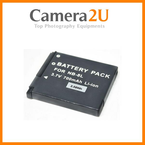 Grade A NB-8L Li-Ion Battery for Canon A2200 A3000 A3100 NB8L