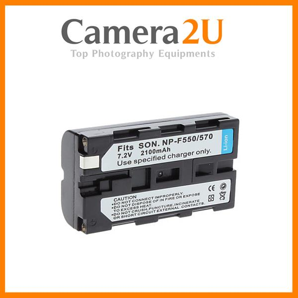 NEW Grade A NP-F550 Li-Ion Rechargeable Battery for Sony handycam