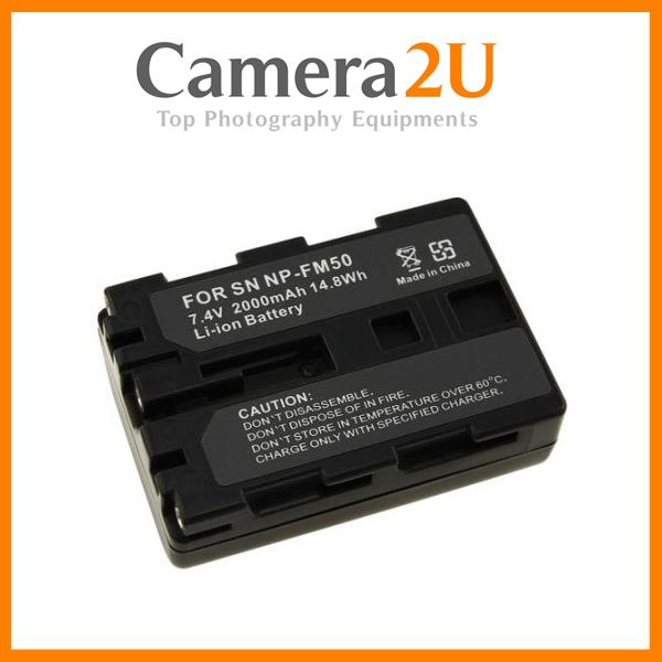 Grade A NP-FM50 Rechargeable Li-Ion Battery for Sony