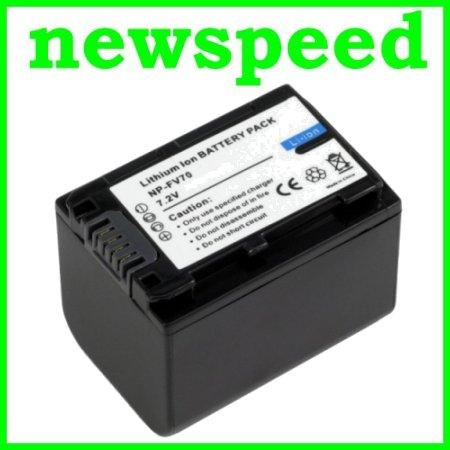 Grade A NP-FV70 Li-Ion Battery for Sony NEX-VG900 NEX-VG10 NPFV70