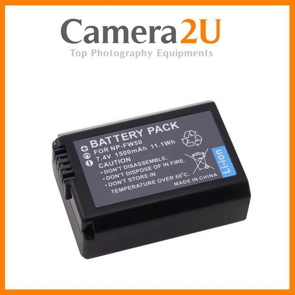 Grade A NP-FW50 Li-Ion Battery for Sony NEX3 NEX5 NEXC3 NEXC5