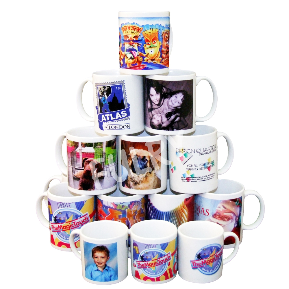 Grade A Sublimation White Mugs with Gift Box - 48 Pcs