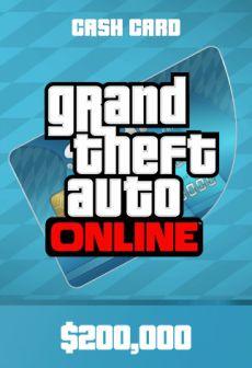 Grand Theft Auto Online: Tiger Shark Cash Card Rockstar GLOBAL 200 000 USD  Key