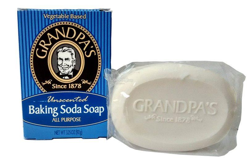 Grandpa's, Baking Soda Soap (小苏打肥皂)