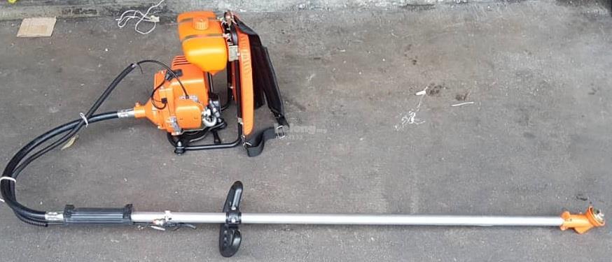 grass garden wire ground leaf cutter cut brush handle engine machine