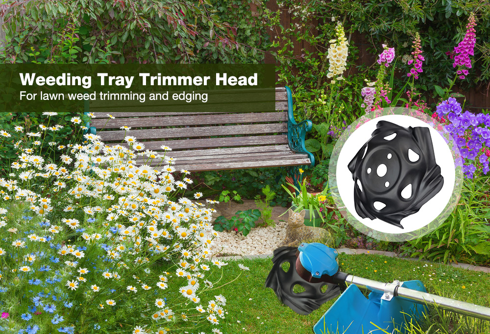 Grass Mowing Lawnmower Weeding Tray Trimmer Head