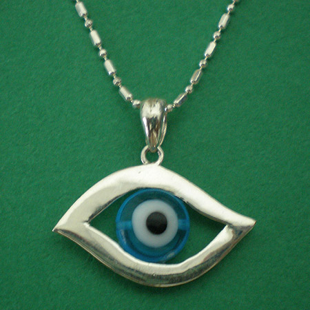 Greek Evil Eye Necklace - NPK7260