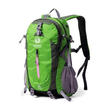 Green Pentagram 40L Outdoor Travel Backpack Casual School Bag