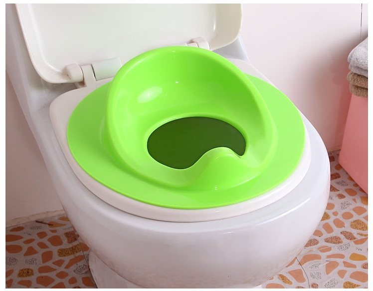 Green Potty Training Toilet Seat Portable Trainer Chair For Baby Toddl