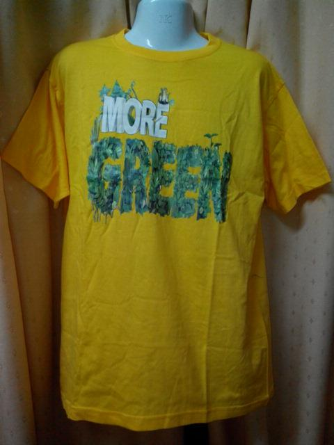'MORE GREEN' T-SHIRT