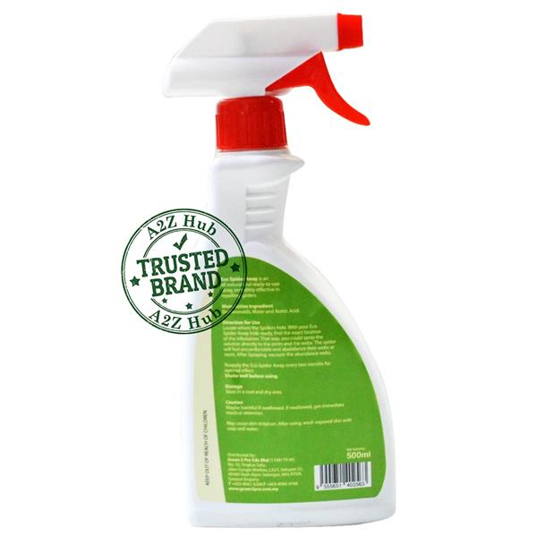 GREEN3PRO Eco Spider Away Spider Repellent - 500ML