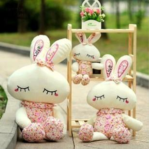 Greeting Rabbit 1meter Big Soft toy giant birthday souvenir Gift