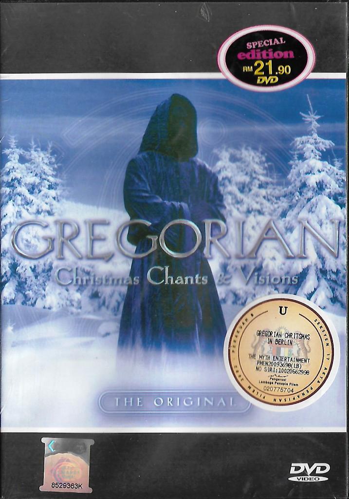 Gregorian Christmas Chants.Gregorian Christmas Chants And Vision The Original Music Dvd