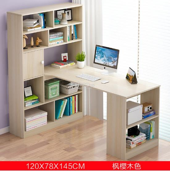 GREY Office Computer Laptop Desk Study Table Meja Home Buku House