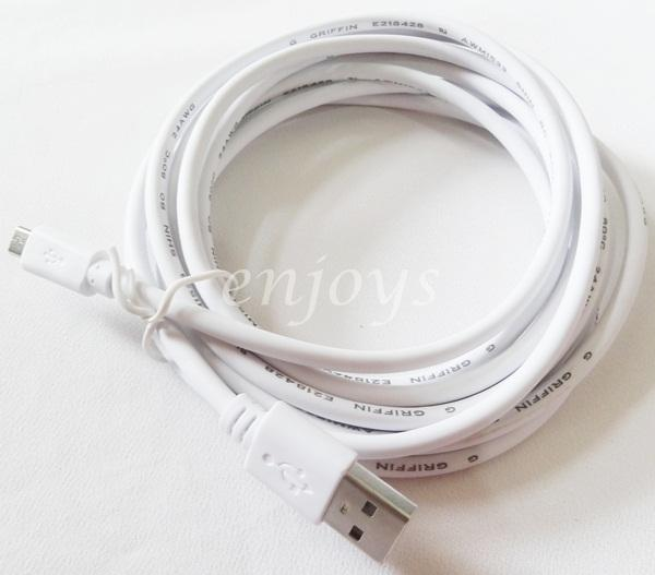 GRIFFIN 3M STRONG Charging Cable Samsung Note 4 N7100 N7000 I9500 Edge