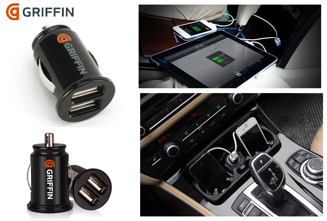Griffin Car Charger: GRIFFIN IPhone IPad IPod 3.1A Dual U (end 1/15/2020 9:15 PM
